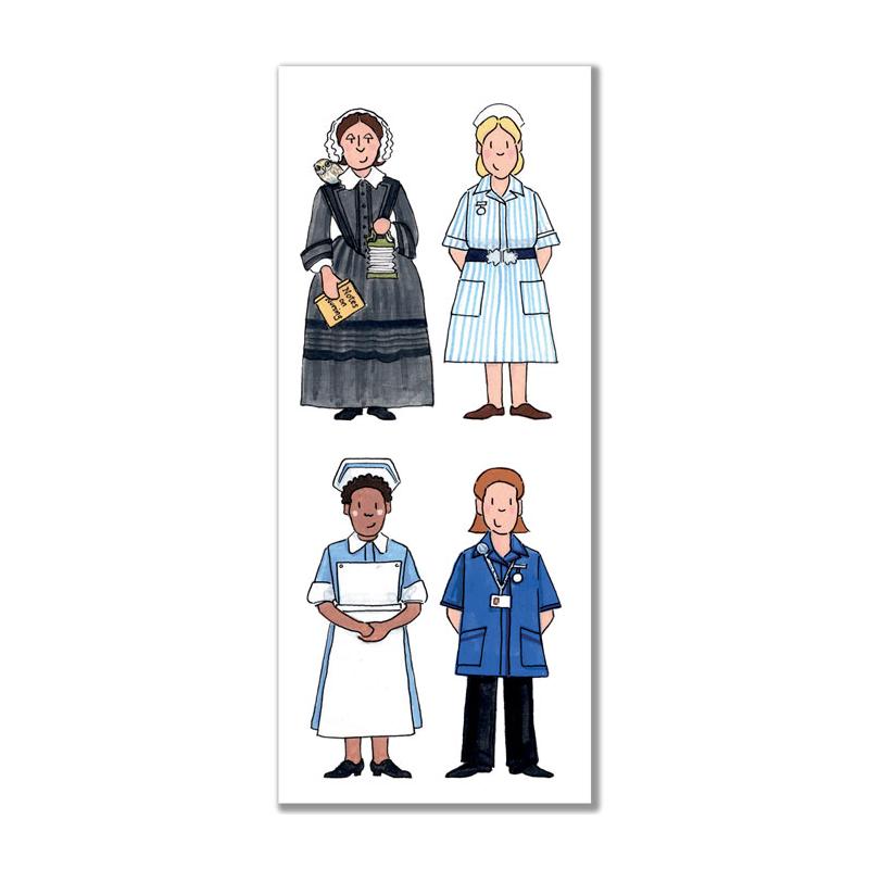 Nursing Bookmark