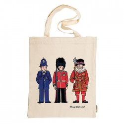London Figures Tote Bag