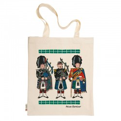 Scottish Pipers Tote Bag