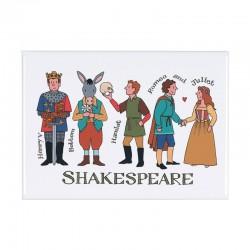 Shakespeare Characters Fridge Magnet
