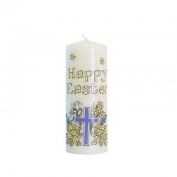 Easter Cross Candle