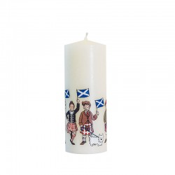 St Andrew's Flag Candle