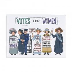Suffragette Fridge Magnet