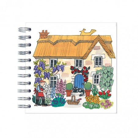 Cottage Garden Mini Notebook