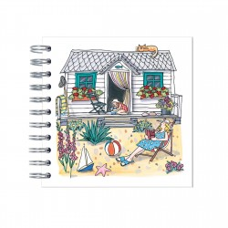 Seaside Garden Mini Notebook