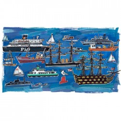 Portsmouth Harbour Print