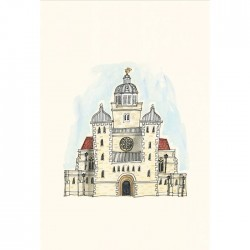 Portsmouth Cathedral Print