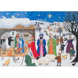 Jesus is Born Advent Calendar