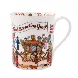 Diamond Jubilee Artist's Limited Edition Mug