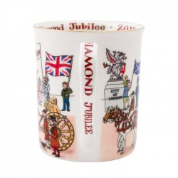 Diamond Jubilee Artist's Limited Edition Mug