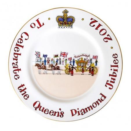 """Diamond Jubilee Plate 10"""""""