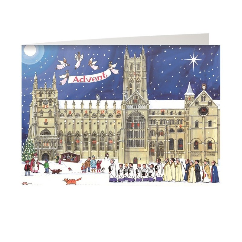 Christmas at the Cathedral Advent Card