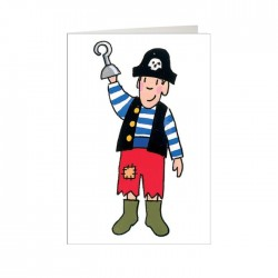 Boy Pirate Mini Card