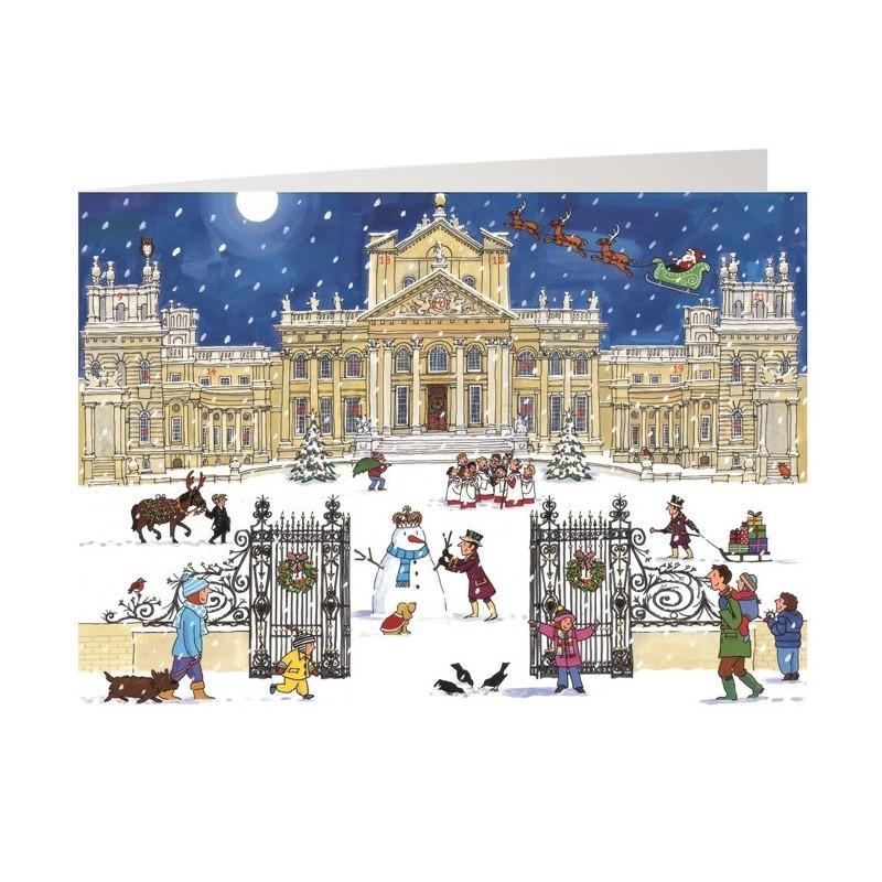 Christmas at the Palace Advent Calendar Card