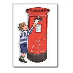 Post Box Fridge Magnet