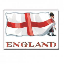 St George's Flag Fridge Magnet