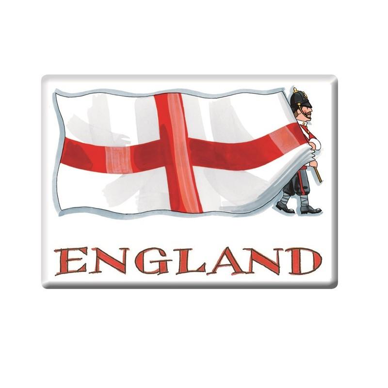 St George's Flag Fridge Magnet