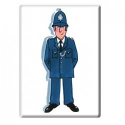 Policeman Fridge Magnet