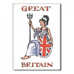 Britannia Fridge Magnet