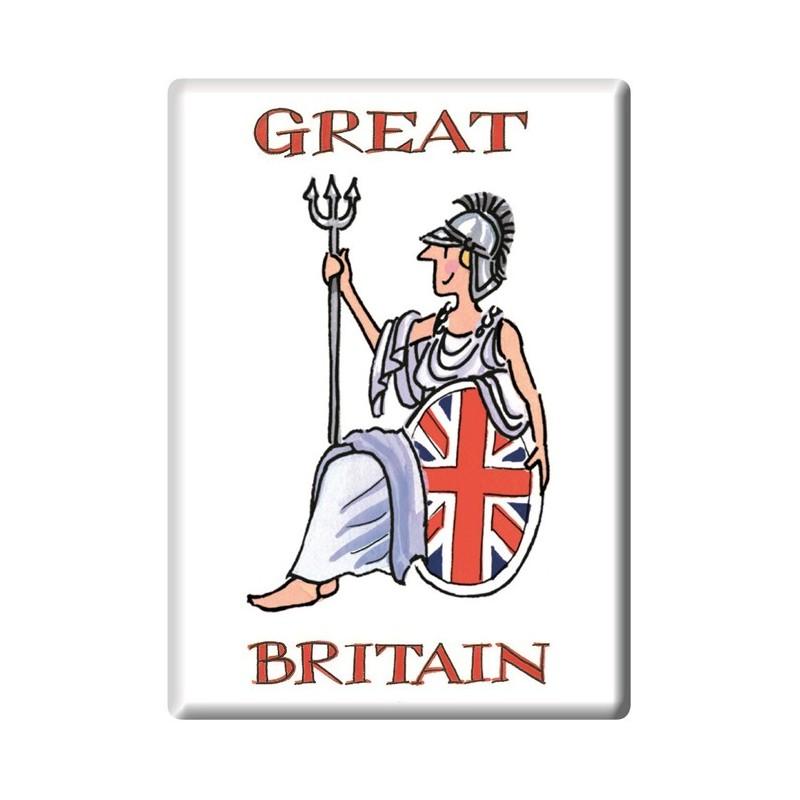Britannia Fridge Magnet