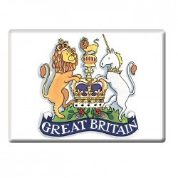 Coat of Arms Great British Fridge Magnet