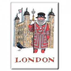 Tower of London Fridge Magnet