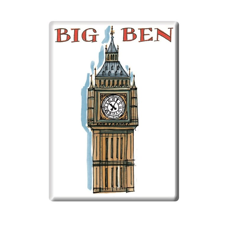 Big Ben Fridge Magnet