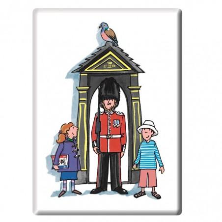 Guardsman on Duty, London Fridge Magnet