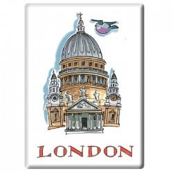 St Paul's Cathedral Fridge Magnet