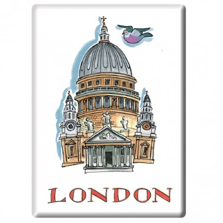 St Paul's Cathedral Fridge Magnet