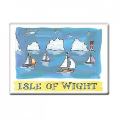 The Needles, Isle of Wight Fridge Magnet