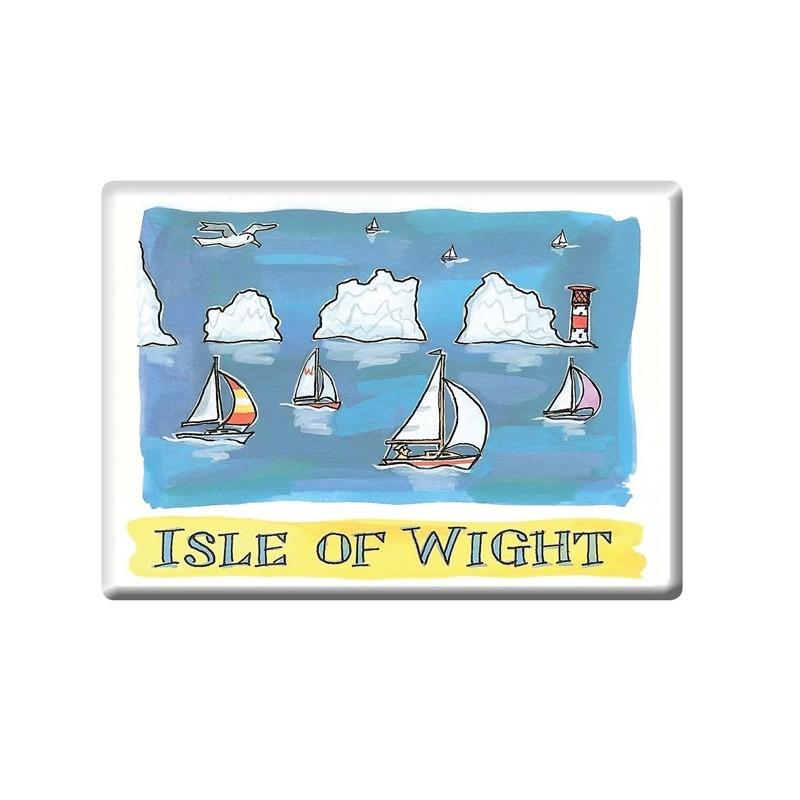 The Needles, Isle of Wight Fridge Magnet