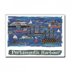 Portsmouth Harbour Fridge Magnet