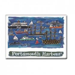 Portsmouth Harbour Fridge Magnet