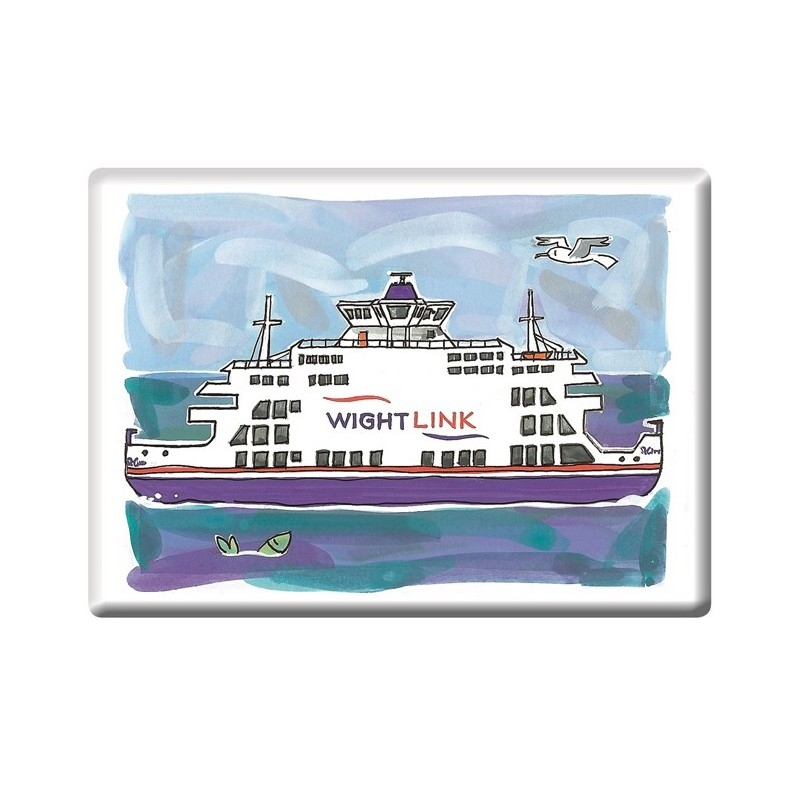St Clair's Ferry Fridge Magnet