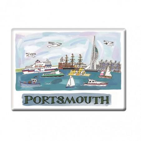 Spinnaker Tower, Portsmouth Fridge Magnet