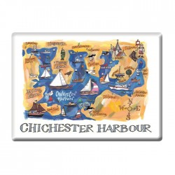 Chichester Harbour Fridge Magnet