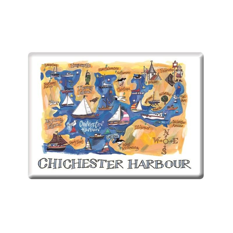 Chichester Harbour Fridge Magnet