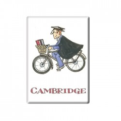 Cycling Tutor, Cambridge Fridge Magnet