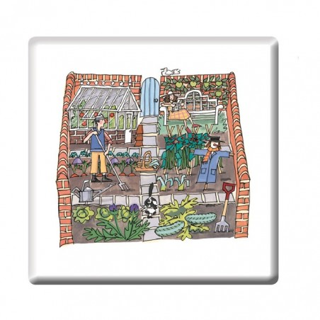 Allotment Garden Coaster