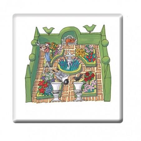 Formal Garden Coaster