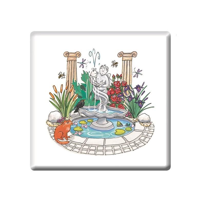 Water Garden Coaster