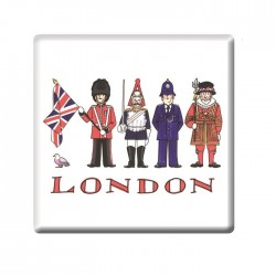 London Figures Coaster