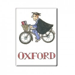 Cycling Tutor, Oxford Fridge Magnet