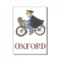 Cycling Tutor, Oxford Fridge Magnet