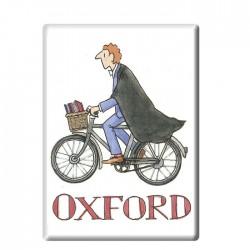 Cycling Student Boy, Oxford Fridge Magnet