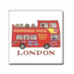 London Coasters Set of 4