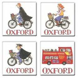 Oxford Coasters Set of 4